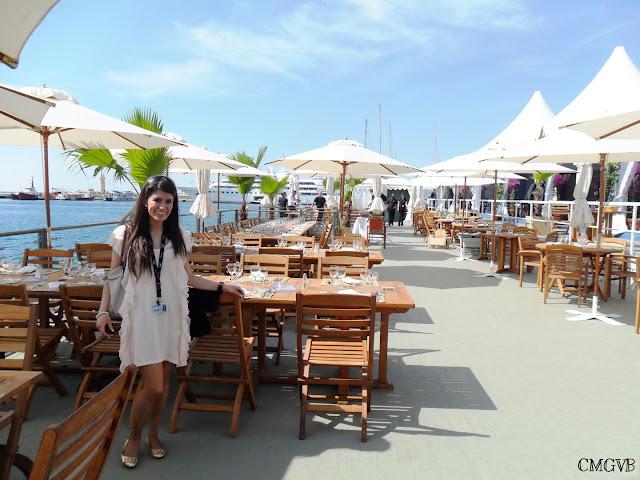 fashion blogger, Diana Dazzling, Festival de Cannes, terrase, Croisette, Cannes