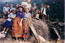 American grandmothers with Nepalese children