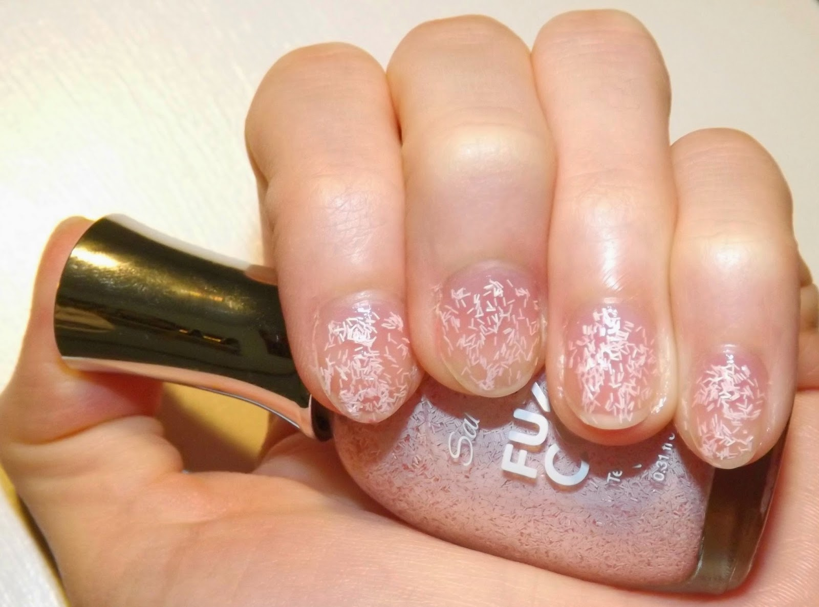 Perfectly Polished 12: Sally Hansen Fuzzy Coat \