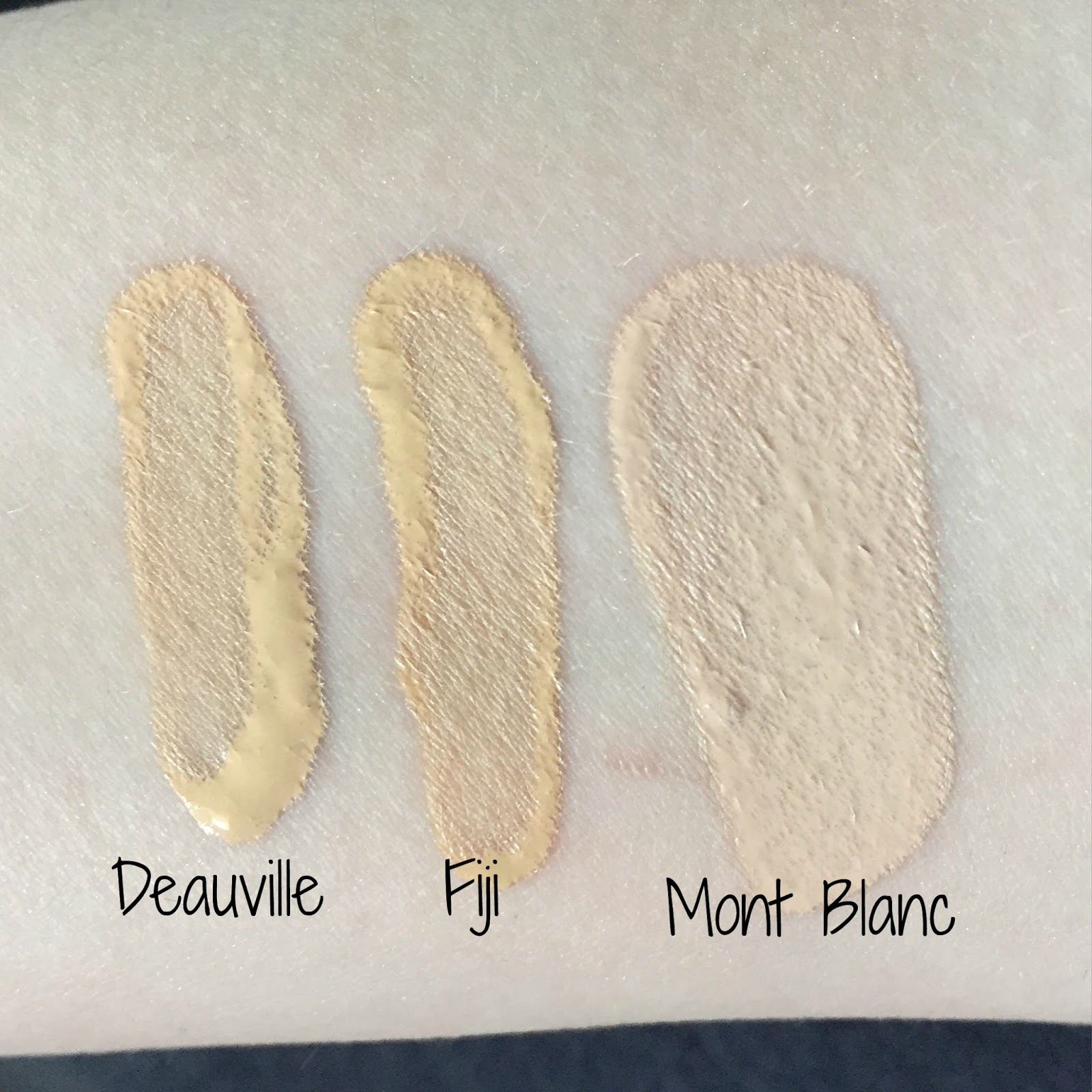 NARS Foundation Colours