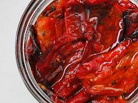 Pimentões Vermelhos Assados (vegana)