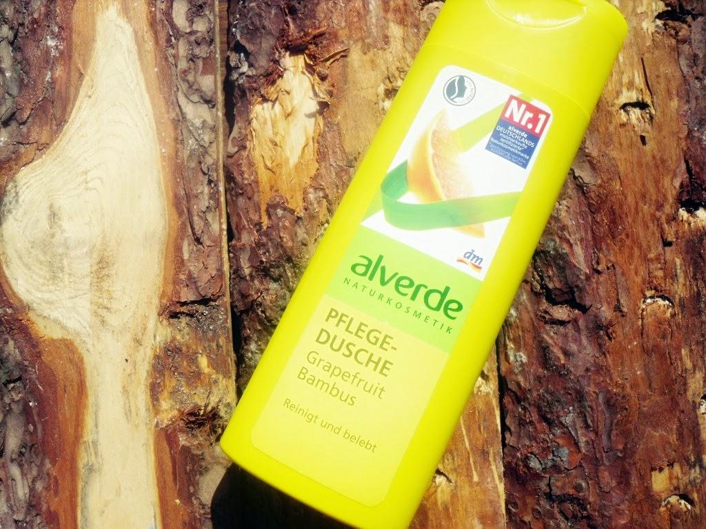 Alverde, Pflege Dusche, żel pod prysznic z wyciągiem z grejpfruta i bambusa