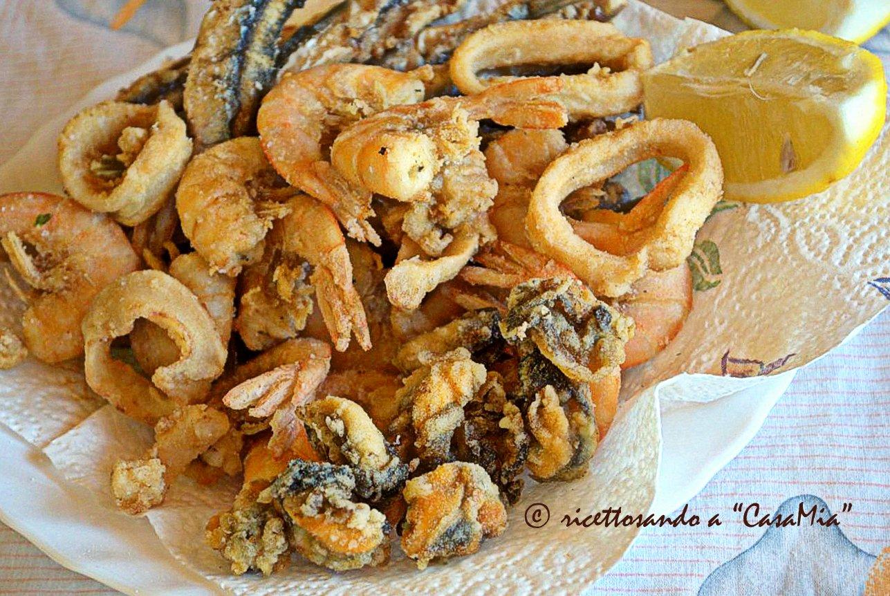 Fritto misto di pesce ricetta di pesci e cefalopodi