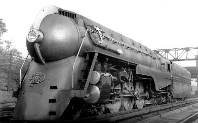 Art Contrarian: Early American Streamlined Locomotives, Part 2 Henry Dreyfuss Train