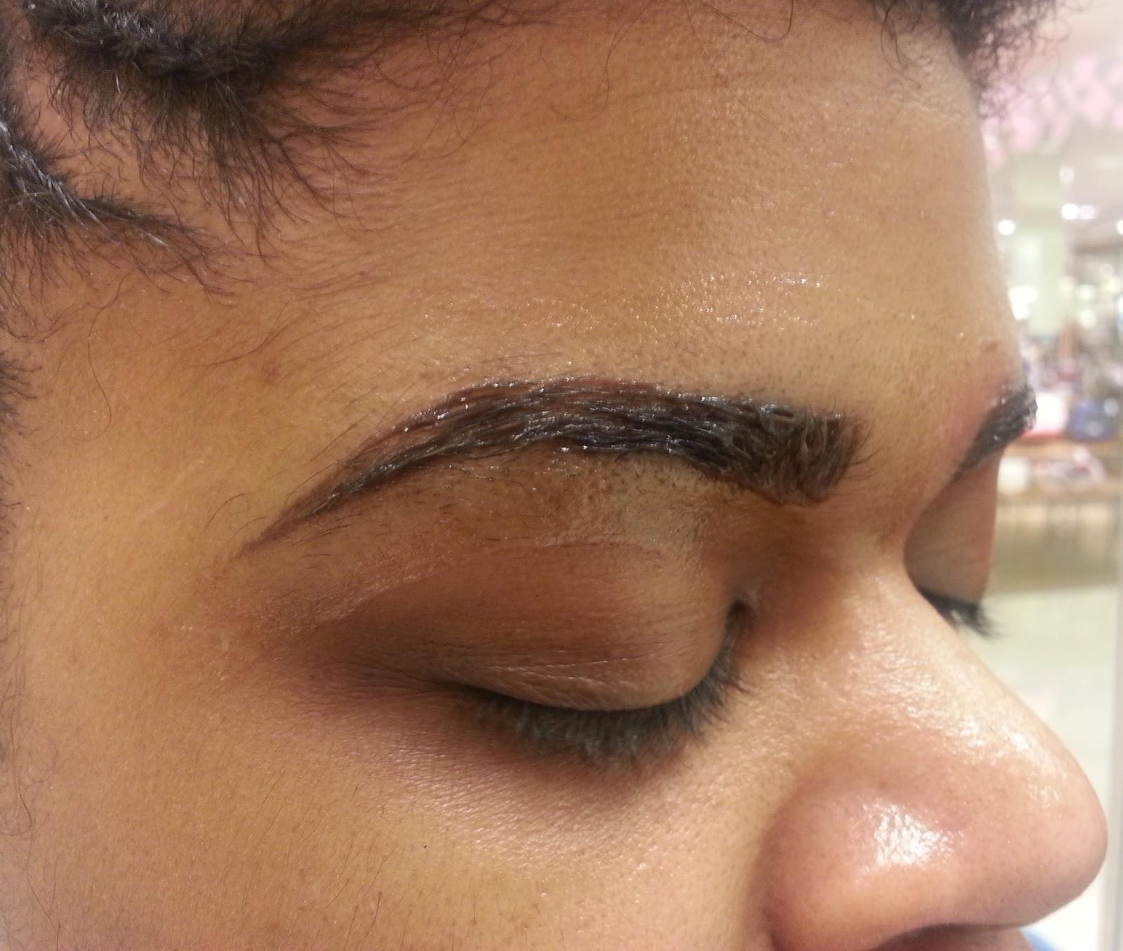 Beauty Benefit Cosmetics Brow Bar Brow Tinting Experience Fabellis