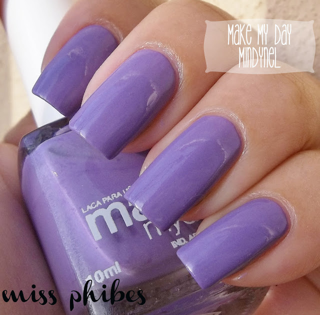 Make my day Mindynel + esmalte routie