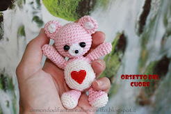 Orsetto del cuore crochet - Shop