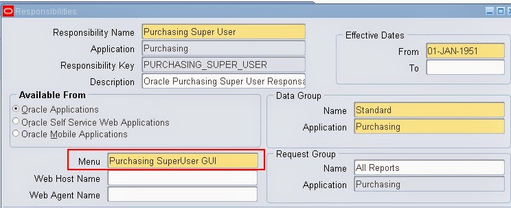How to make a Oracle form Query Only Simplifying Oracle E – Standard Purchase Order Form