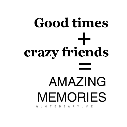 Good Quotes On Old Friends : Friendship memories quotes