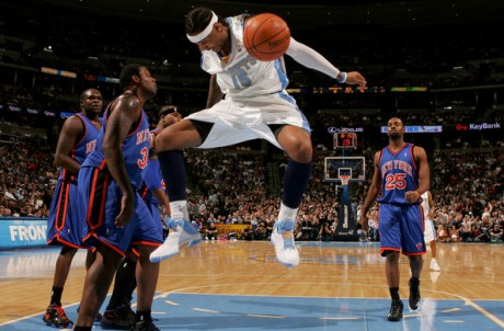 Carmelo Anthony is finally a Knick. Following endless rumors since before