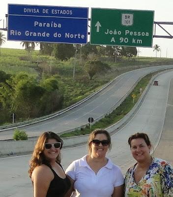 Divisa de estado Rio Grande do Norte e Paraíba