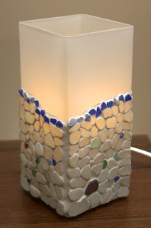 Sea Glass GRONO Lamp