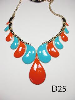 kalung aksesoris wanita d25