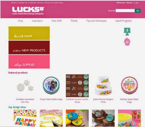 The Kindle Blog Report: Website Review: Luck\'s Food ...
