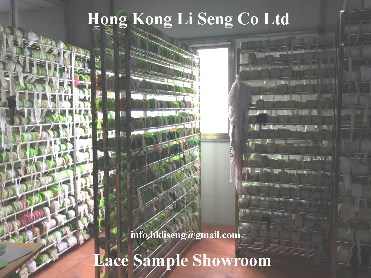 Lace Sample Showroom