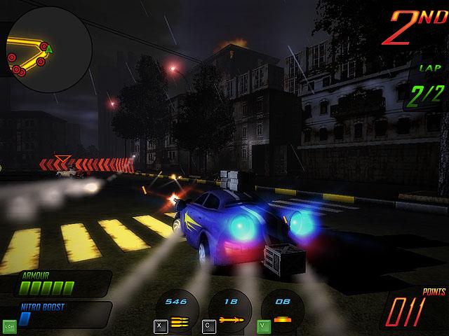 لعبة سباق السيارات العملاقة Apocalypse Motor Racers