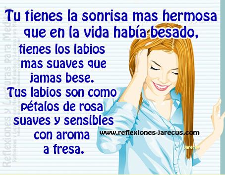 sonrisa, hermosa, vida, besado, labios, suaves, rosa, sensibles, aroma, fresa