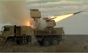 Sistema de defensa aérea rusa Pantisir-S1