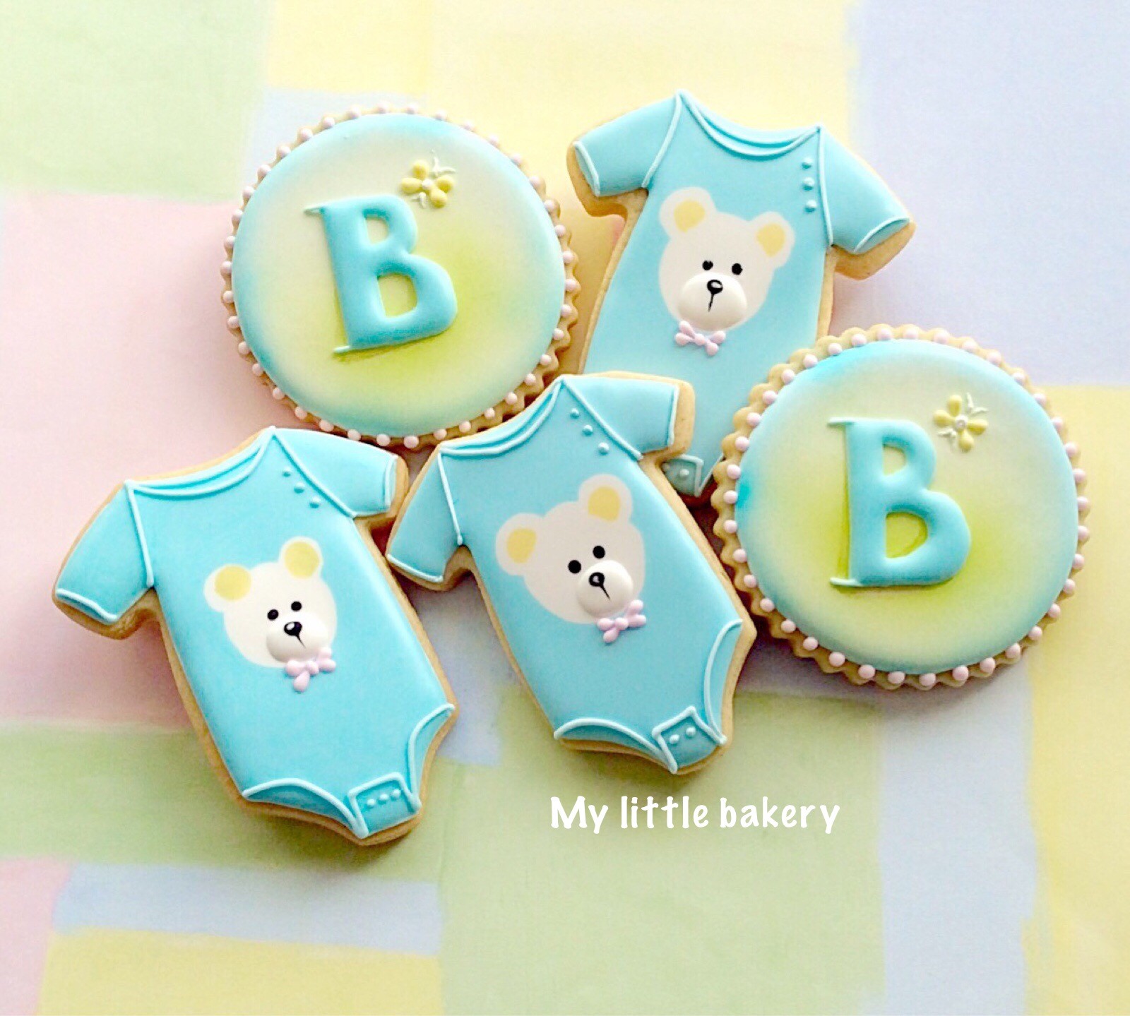 Baby Shower Cookies.