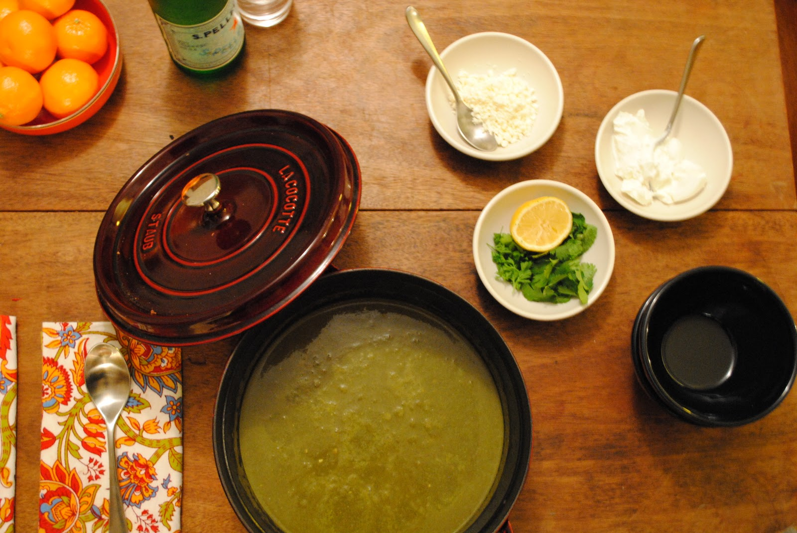 Poetic Appetite: Herb, Chard, and Feta Soup (And an Epiphany)