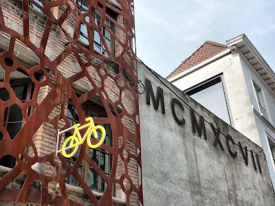 Tienda de bicicletas en Brujas