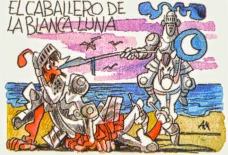 Caballero de la Blanca Luna, Quijote II, 4º centenario de El Quijote