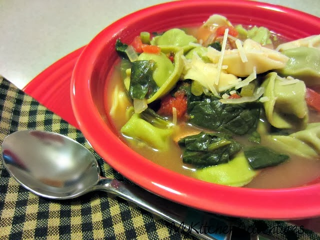 Chicken sausage and tortellini soup renee 39 s kitchen for Renee s kitchen