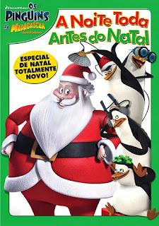 Os Pinguins de Madagascar: A Noite Toda Antes do Natal Dublado