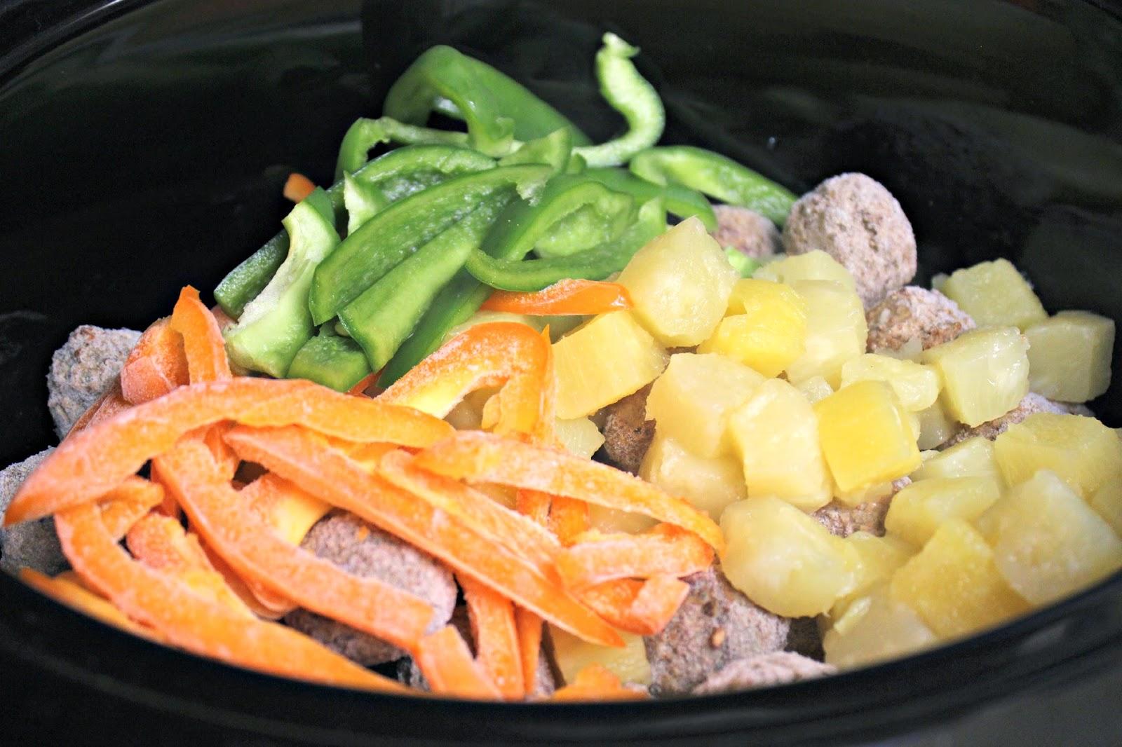 crockpot hawaiian meatballs  a bountiful love