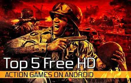 Top 5 HD Game Action gratis Android