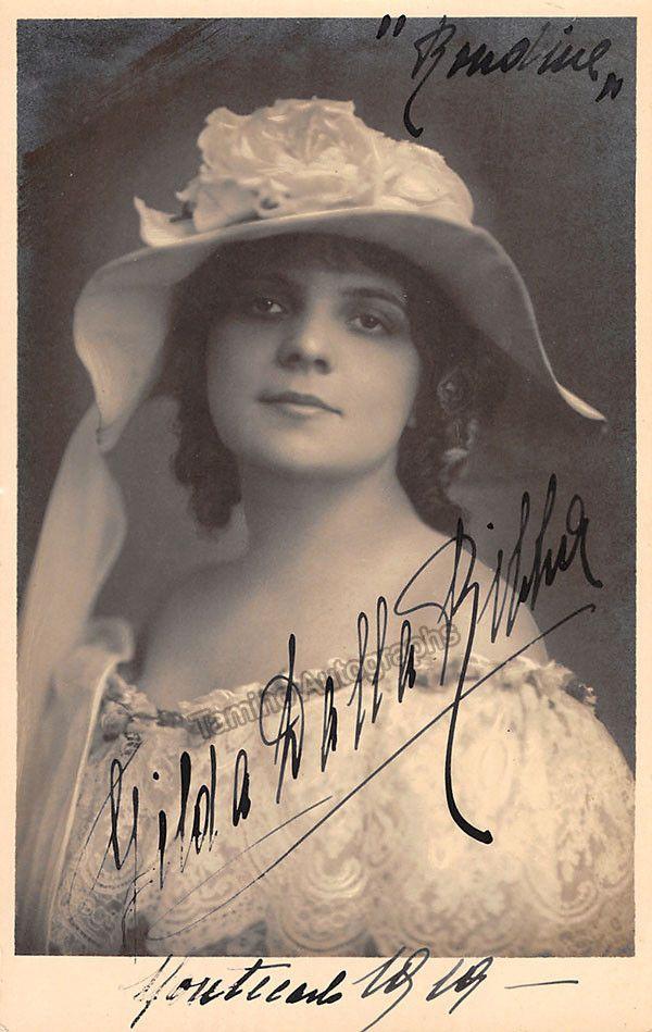 ITALIAN SOPRANO GILDA DALLA RIZZA (1892-1975) CD