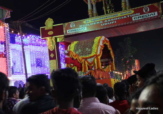 Pejavara Seer Paryaya 2016 Procession