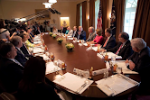 The President Meets with Cabinet