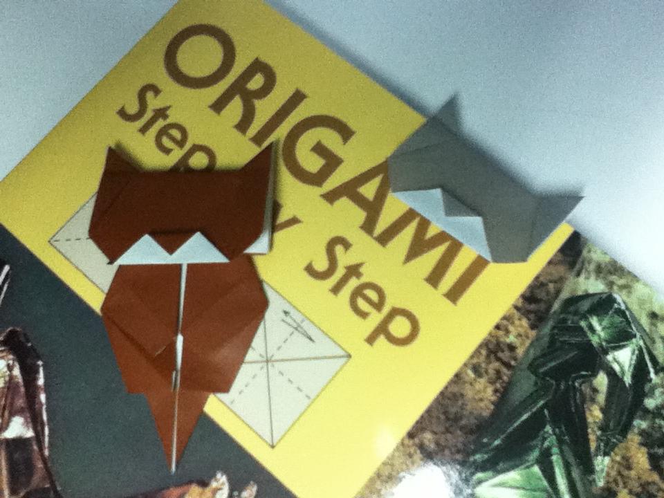 Origami Maniacs Origami Neko Bookmark By Jo Nakashima