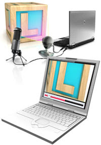 Software to Stream and Broadcast Live Audio and Video from your PC