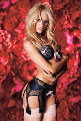 Candice Swanepoel Victoria's Secret  Lingerie Photoshoot 2014 Valentine's Day HQ Pictures
