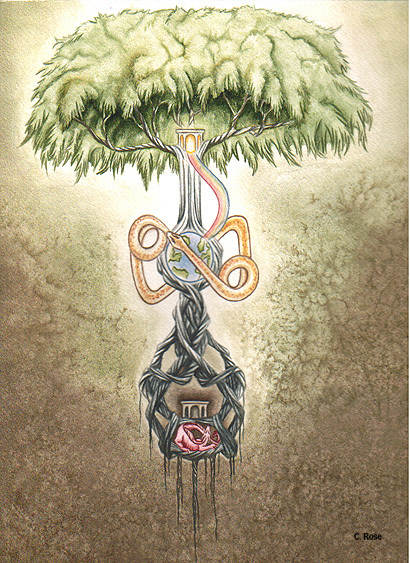 Pohon Kehidupan:Yggdrasil