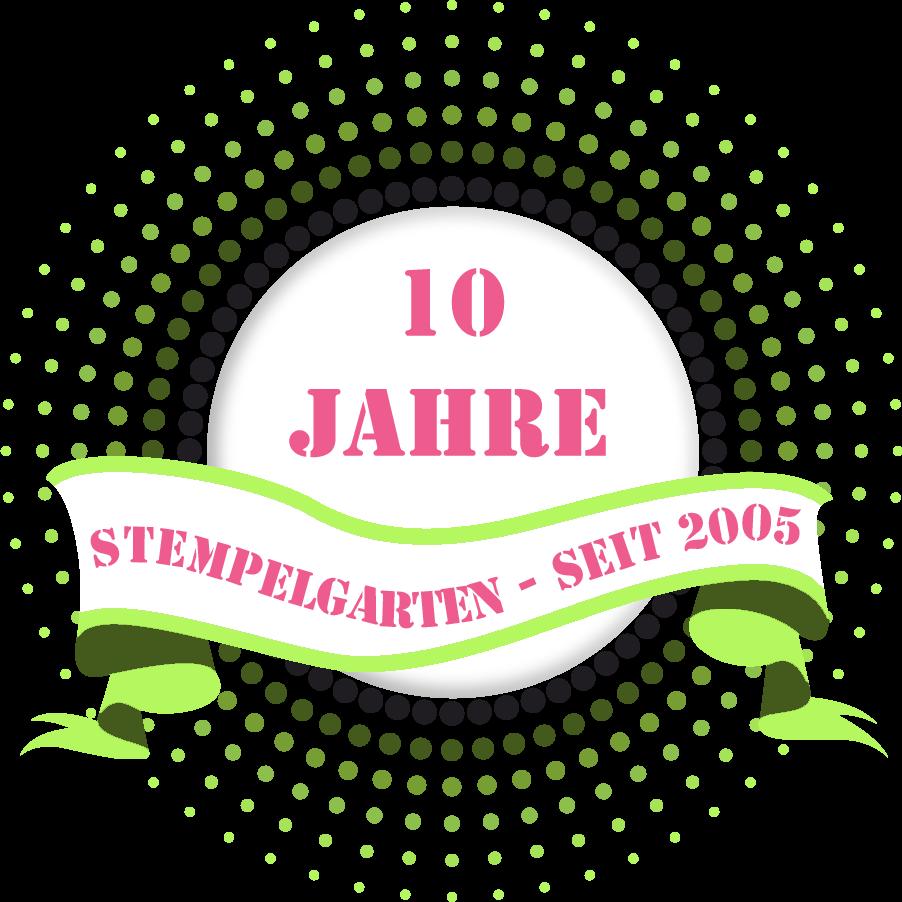 10 Jahre Stempelgarten