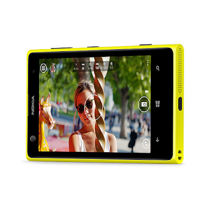 Nokia Lumia 1020 Windows Smartphone with 41 Megapixel Camera Quick View of Camera Shoot