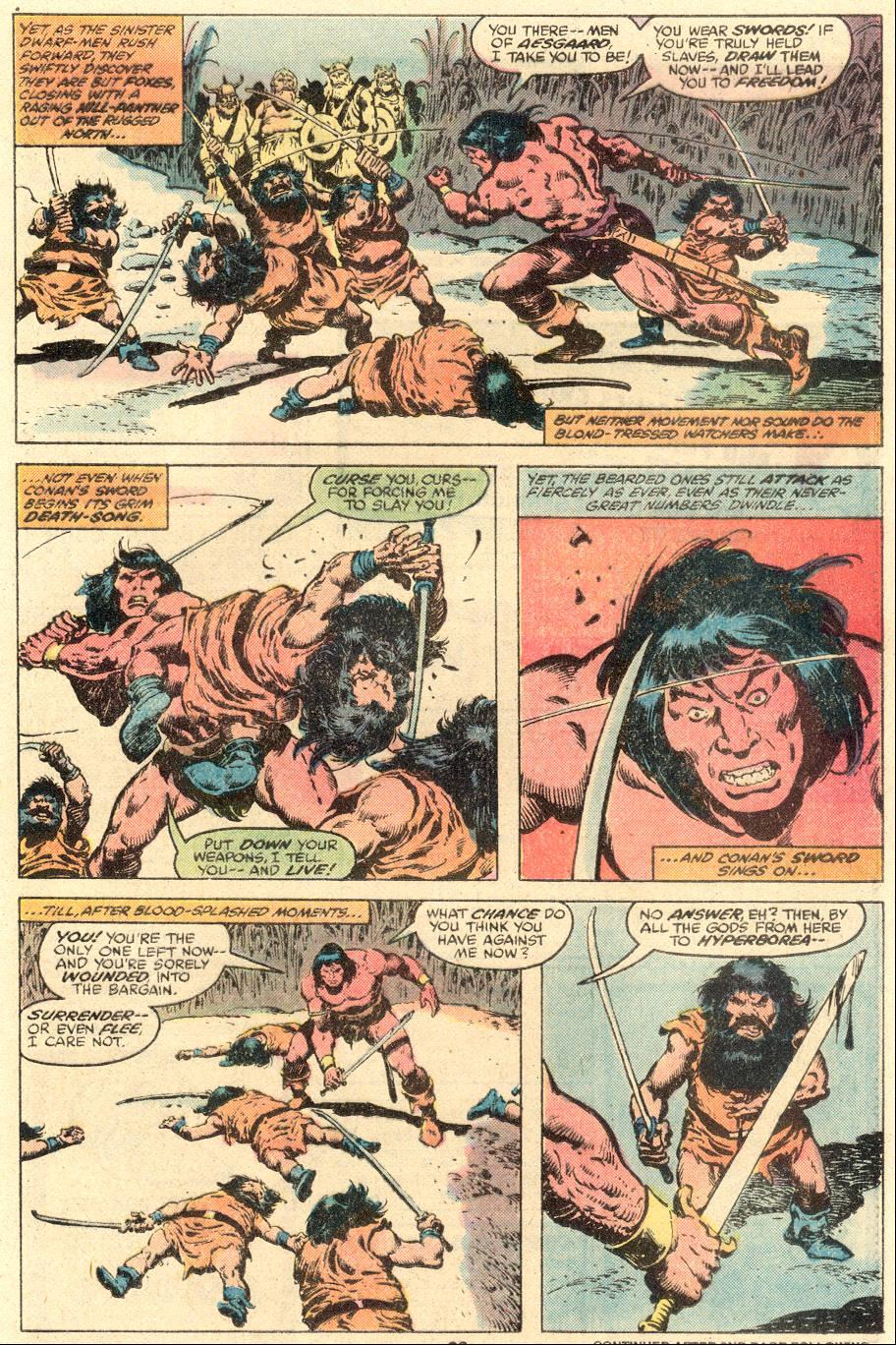 Conan the Barbarian (1970) Issue #109 #121 - English 15