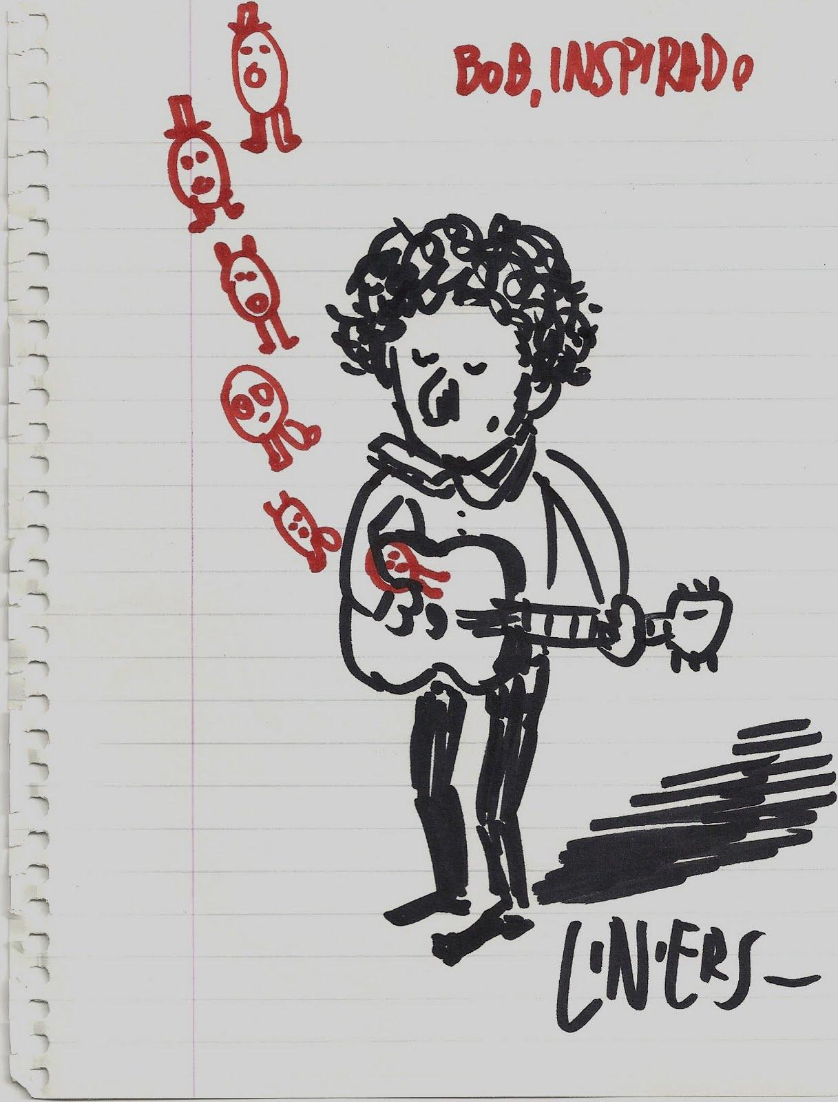 Bob Dylan por Liniers | csc