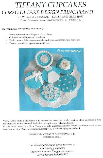 Corso Di Cake Design Varese : Zuccherosamente...: Corso di cake design - Tiffany ...