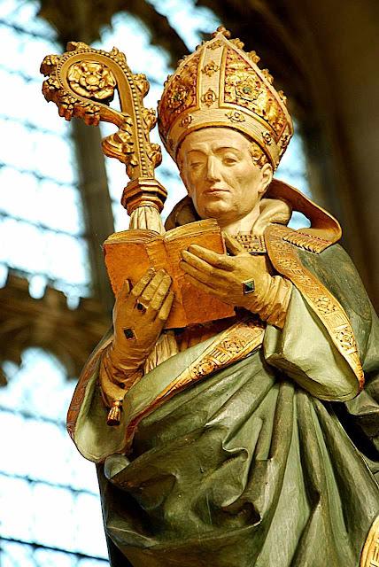 Santo Agostinho de Cantuária, Canterbury