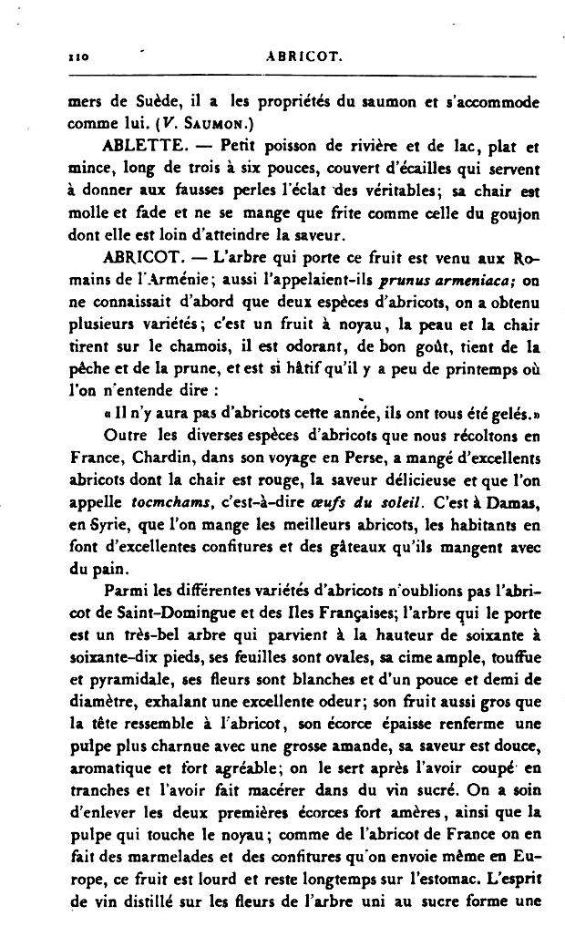 10 mai fontenay sous bois l 39 abricot alexandre dumas - Dictionnaire de cuisine alexandre dumas ...