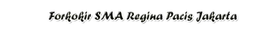 Forko KIR SMA Regina Pacis Jakarta