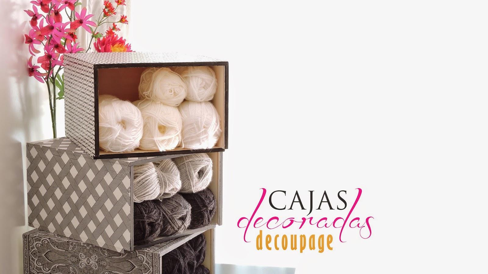 Elevado a n decorar cajas para ordenar tus lanas - Cajas para ordenar ...