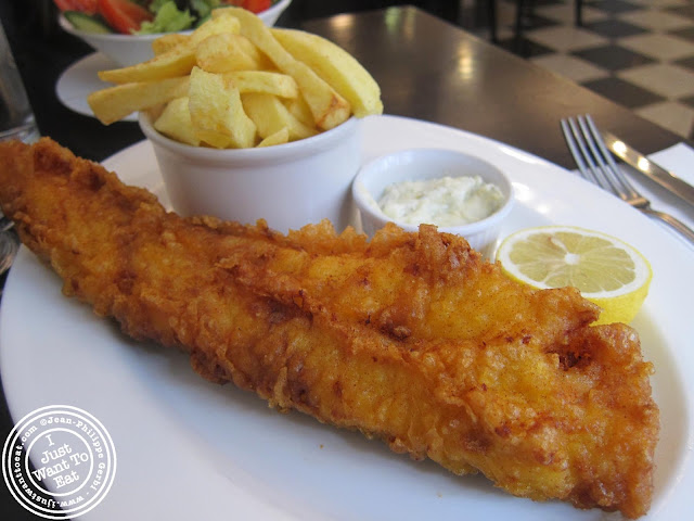 Image of Fish and Chips at Seashell on Lisson Grove in London, England