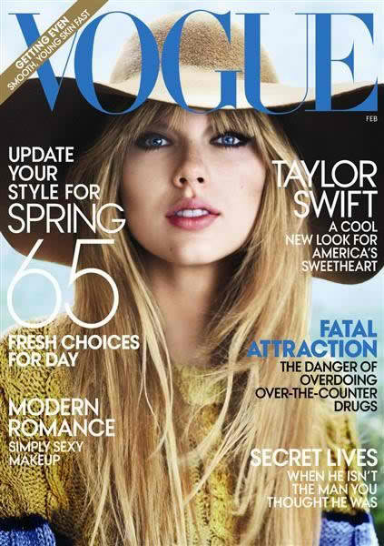Taylor Swift Vogue US February 2012