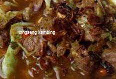 resep masakan indonesia tongseng kambing spesial sedap, gurih, lezat