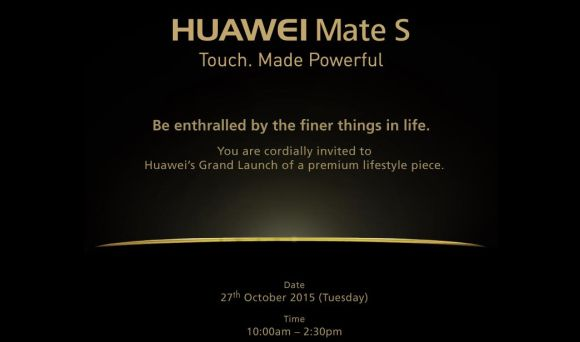 Huawei Mate S Confirmed Its Launch in Malaysia
